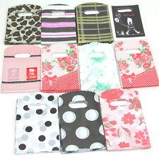50pcs Pretty Plastic Jewelry Small Gift Bag 15X9cm Many Colors NEW