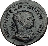 TACITUS 275AD Authentic Ancient Original Genuine Roman Coin ANNONA i65456