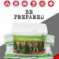 Culinary Herb Garden Emergency Survival Seed Pack, Non-Hybrid, Non-GMO, No Chems