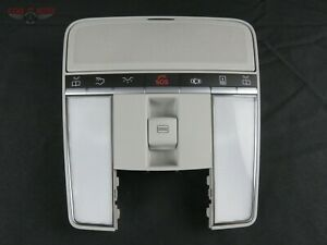 Mercedes Benz S550 Overhead Map Lamp Dome Light Sunroof Gray 09 13 A2218705693
