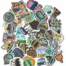 50Pcs Camping Travel Stickers Wilderness Adventure Landscape Waterproof Sticker~