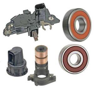 Alternator Rebuild Kit fits 2009-2012 Audi A4 2.0, 2010-2013 A5, Regulator Beari