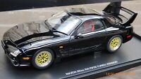 Rare Autoart 1:18 Mazda RX-7 Efini FD Brilliant Black Wankel Rotary Toy Car