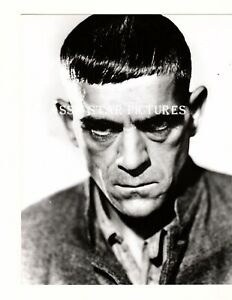 T169 Boris Karloff close up 8 x 10 glossy photograph