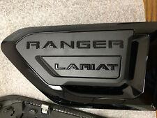 19 thru 20 Ranger OEM Genuine Ford Satin Black Fender Trim Vent badge  PAIR