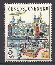 Czechoslovakia 1967 MNH ** Mi 1744 Sc C65 AIR POST Airmail PRAGA 68.