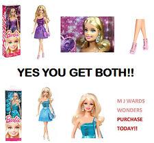 MEGA DEAL - Barbie BNC33 - Glitz Purple Dress & Barbie Glitz BNC34 - Blue Dress