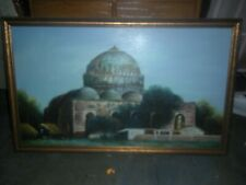 Estate oil on canvas painting dome structure