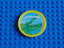 LEGO - POP BADGE ( CROCODILE - YELLOW ) 2014