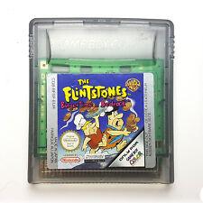 The Flintstones Burgertime in Bedrock-Game Boy Color DMG-sapinières-EUR-Cart only