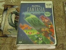 NEW FACTORY SEALED~WALT DISNEY~FANTASIA 2000 VHS~W/ COMMEMORATIVE BOOKLET~#20859