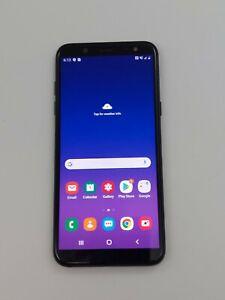Samsung Galaxy A6 SM-A600A Black AT&T Unlocked 32GB- Burn-in