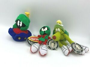 Looney Tunes MARVIN the Martian Classic Collection 1999 Applause Lot of 3