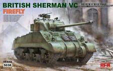 Rye Field Model 5038 British Sherman VC Firefly w/ workable track links 1:35