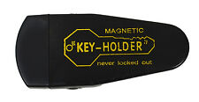 Hide A Key Magnetic Storage Holder Under Car Spare Key Case Large Black