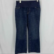 Gap wide leg maternity jeans 4 ankle