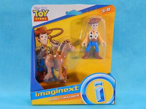 Imaginext Woody & Bullseye Disney Pixar Toy Story 2 Pack New Sealed
