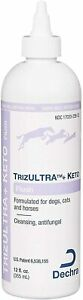 TrizULTRA + Keto Anti-Microbial & Anti-Fungal Flush for Dogs Cats & Horses 12 oz