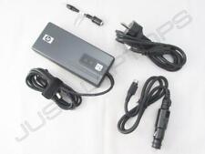 New Genuine HP Compaq 2510p 2710p 6510b AC/DC Combo Travel Power Supply EU Plug