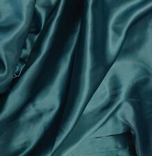 Satin budget dress fabric Teal Shiny satin silk satin dress craft fabrics