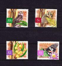 Australie 1997  Faune Animaux animals oiseaux birds used oblitérés