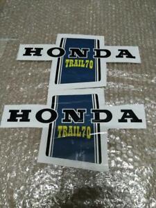 Honda 70 CT70 K1 ST70 DAX  Sticker Decal Frame Pair