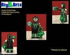 GREEN LANTERN Simon Baz DC Custom Printed LEGO Minifigure NO Decals Used!