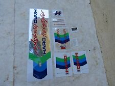 HARO MASTER DECALS BMX  STICKERS FACTORY MADE RARE