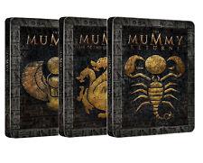 LA MUMMIA - TRILOGIA BLU-RAY Steelbook Edition (3 BLU-RAY) 3 Dischi Singoli