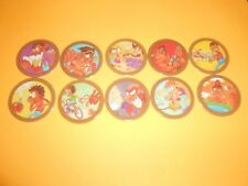122 pogs pog caps milkcaps flippo : lot de 10 hoppies