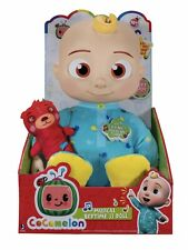"Cocomelon Musical Bedtime JJ Doll Soft 10"" Plush Sing Toy YouTube New"