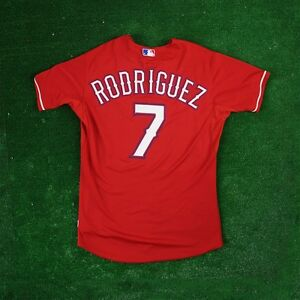 Ivan Rodriguez Texas Rangers Authentic On-field Alternate Red Cool Base Jersey