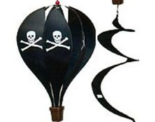 Pirate Hot Air Balloon Display Hanging Spinner Tail 45 X 11""