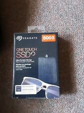 BRAND NEW!! Seagate One Touch 500GB External USB 3.0 Portable SSD