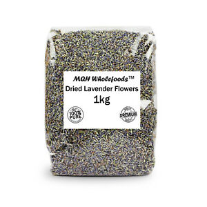 Dried Lavender Flowers Loose Fresh Natural Genuine Scent Pot Pourri 25g-1kg