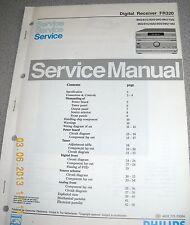 Philips FR320 Digital Receiver Service Manual