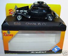 SOLIDO RACING CITROEN TRACTION 15 CV MONTE CARLO 1952 N°350 REF 1903 1/43 IN BOX