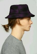 NEW URBAN OUTFITTERS STUSSY PLAID HOMBRE BUCKET HAT SMALL / MEDIUM