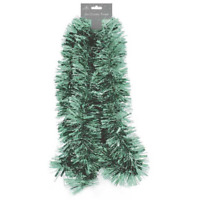 Chunky Pale Green Tinsel (2)M Xmas Party Decoration Garland XmasTree Decor