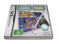 Casual Mania Nintendo DS 2DS 3DS Game *Complete*