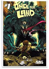 ONCE OUR LAND #1 - The Comic Mint Neil Googe Variant - Ltd. 250 - Scout Comics!