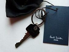 Paul Smith Keyring / Fob (GENUINE) CHROME/BLACK Key Perfect!