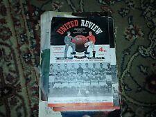 M/cr United vs Sunderland- 20th April, 1957