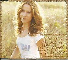 SHERYL CROW Soak Up the Sun w/ 2 LIVE TRX & VIDEO CD single SEALED USA seller