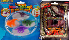 Colour Changing Stretchy Dinosaur Toys And Surprise Bag Set