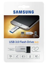 Samsung USB 3.0 Flash Drive DUO Memory Stick 130MB/s - 32G