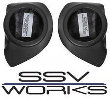 SSV Works Front Speaker Pods - Unloaded 14-15 Arctic Cat WildCat Sport / Trail