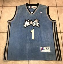 Vintage Jeff Hamilton Tracy Mcgrady Jersey Size 52