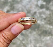 Marked down PRICE! Diamond Half Eternity Ring