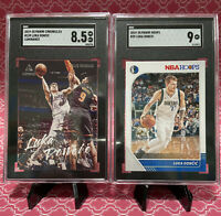 LOT 2019-20 Nba Hoops & Luminance Luka Doncic #39 SGC 8.5-9 Mt 2nd YR Comp PSA